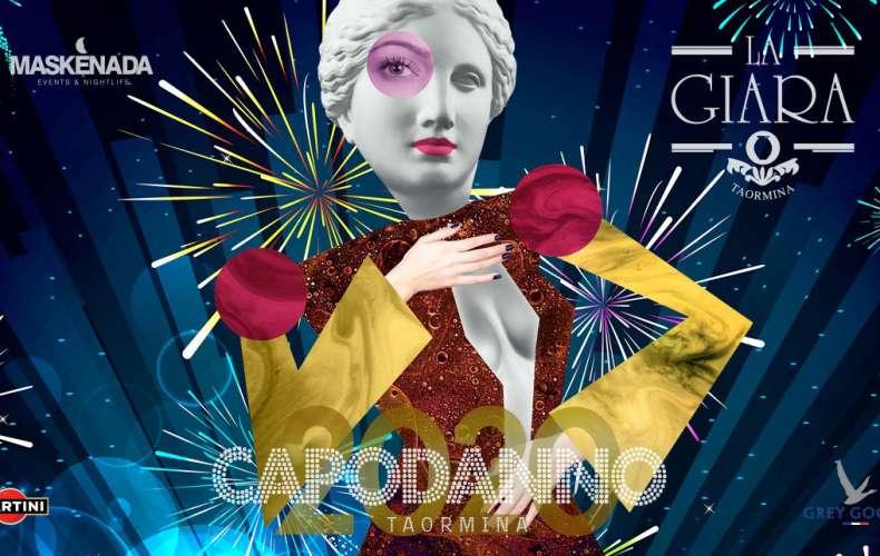 Capodanno a La Giara, Cenone-2020 a Taormina