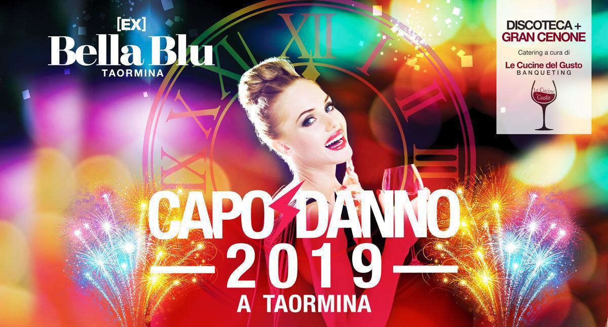 Capodanno 2019 a Taormina disco Ex Bella Blu